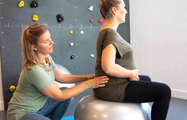 Oefentherapie tijdens en na de zwangerschap